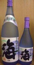 芋焼酎「海」 大海酒造