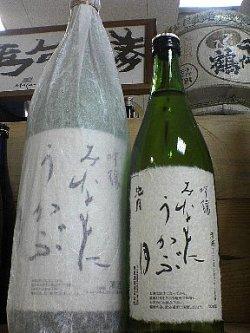 画像1: 池月 吟醸「みなもにうかぶ月」 能登の地酒
